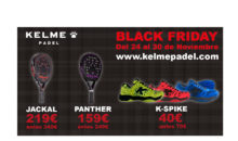 Le black Friday chez Kelme padel !