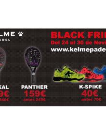 Le black Friday chez Kelme padel !
